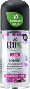 ECOME Deo Roll On Deodorant Floral