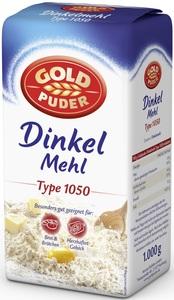 Goldpuder Dinkelmehl Type 1050 1 kg