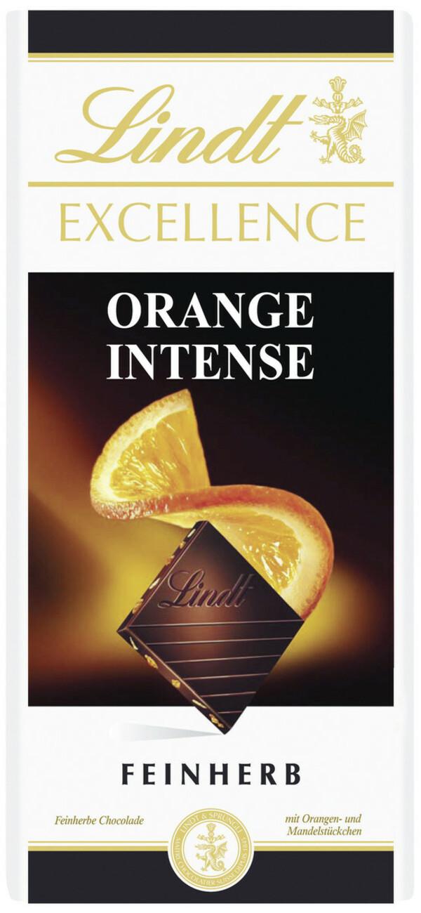 Lindt Excellence Orange Intense Feinherb 100 g