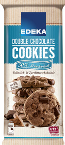 EDEKA Cookie double chocolate 200 g