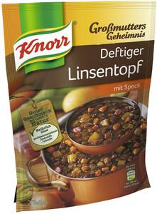 Knorr Großmutters Geheimnis Deftiger Linsentopf 133 g