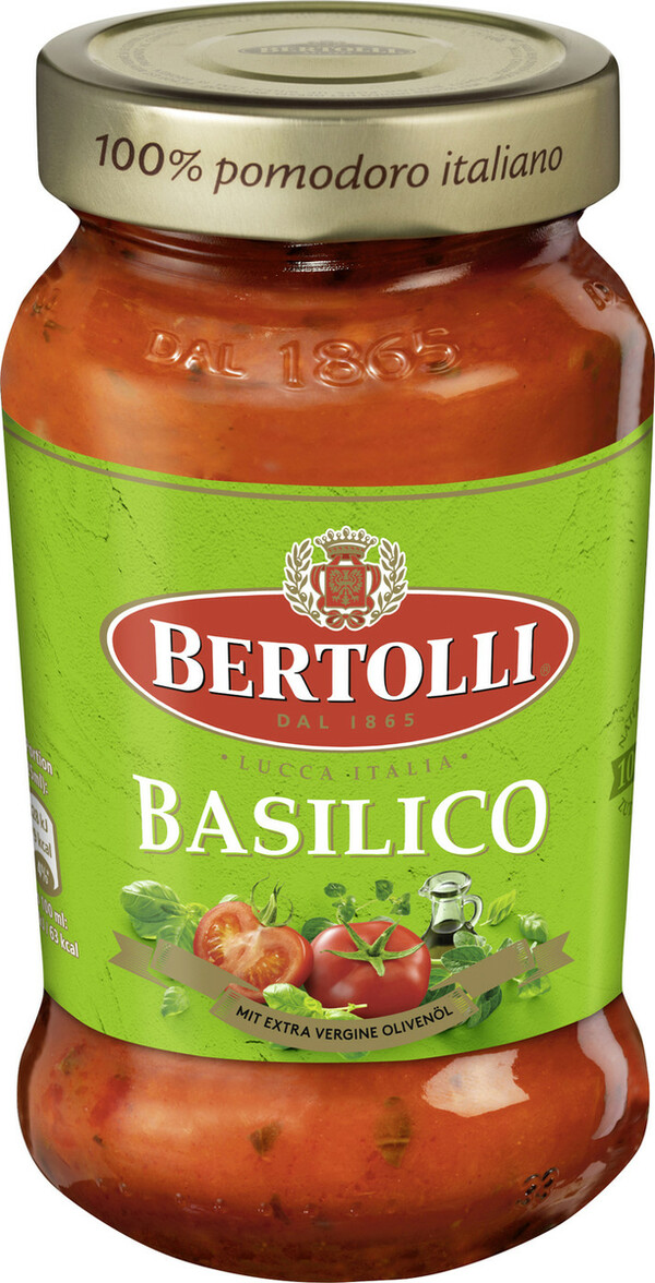 Bertolli Pasta Sauce Basilico 400 g