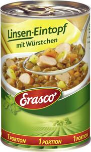 Erasco Linsen-Eintopf mit Würstchen 1 Portion 400 g