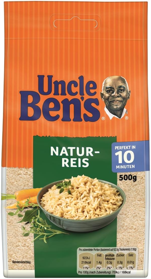 Uncle Ben´s Natur-Reis lose 10 Minuten 500 g