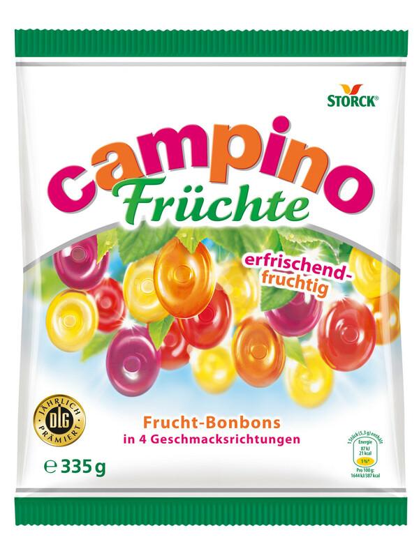 Campino Früchte Bonbons 335 g