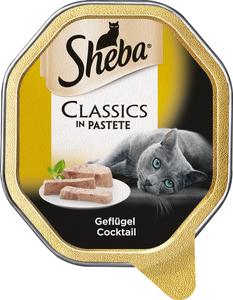 Sheba Classics in Pastete Geflügel Cocktail Katzenfutter nass 85 g