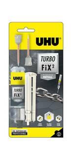 Turbo Fix² - Liquid Metall, 2 Komponenten Kleber, 10 g UHU
