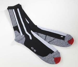 Socken im 2er Pack, Farbe schwarz/ grau/rot COOLMAX