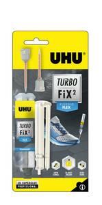 Turbo Fix² - Liquid Flex, 2 Komponenten Kleber, 10 g UHU