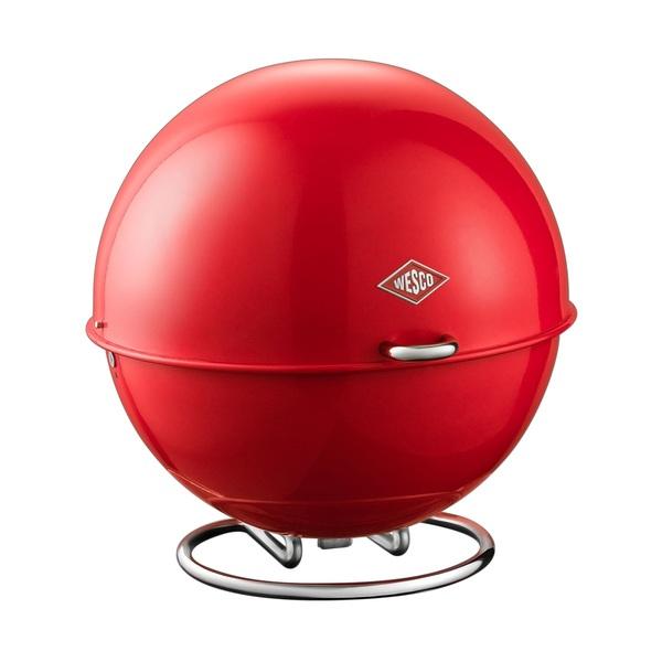 WESCO Vorratsbehälter / Brotkasten SUPERBALL Rot