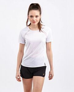 Asics METARUN SHORT SLEEVE TOP - Damen kurz