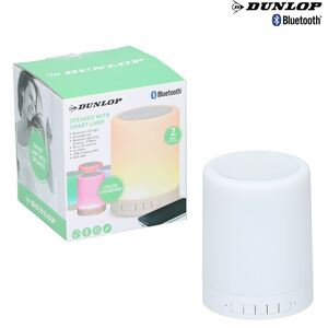 Dunlop Bluetooth-Lautsprecher Smart Lamp