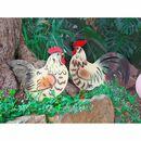 Bild 2 von Metall-Gartenstecker Huhn 32x46cm