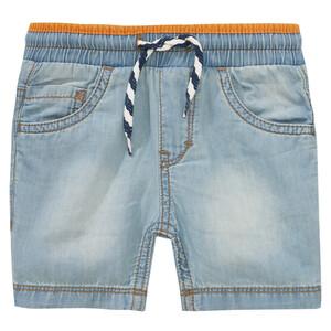 Baby Shorts in Denim-Optik