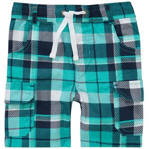 Baby Shorts im Karo-Dessin