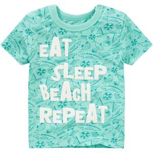 Baby T-Shirt mit gummiertem Print