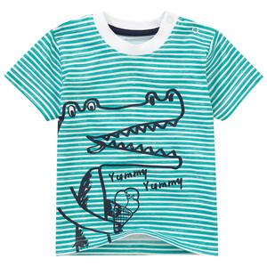 Baby T-Shirt mit Schulterknöpfung