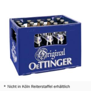 Oettinger Pils, Export, Radler, Alt, Malz oder alkoholfrei