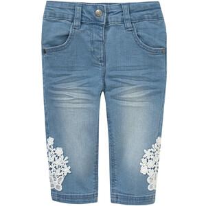 Baby Jeans mit Stickereien