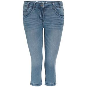 Damen Capri-Jeans mit acht Gürtelschlaufen