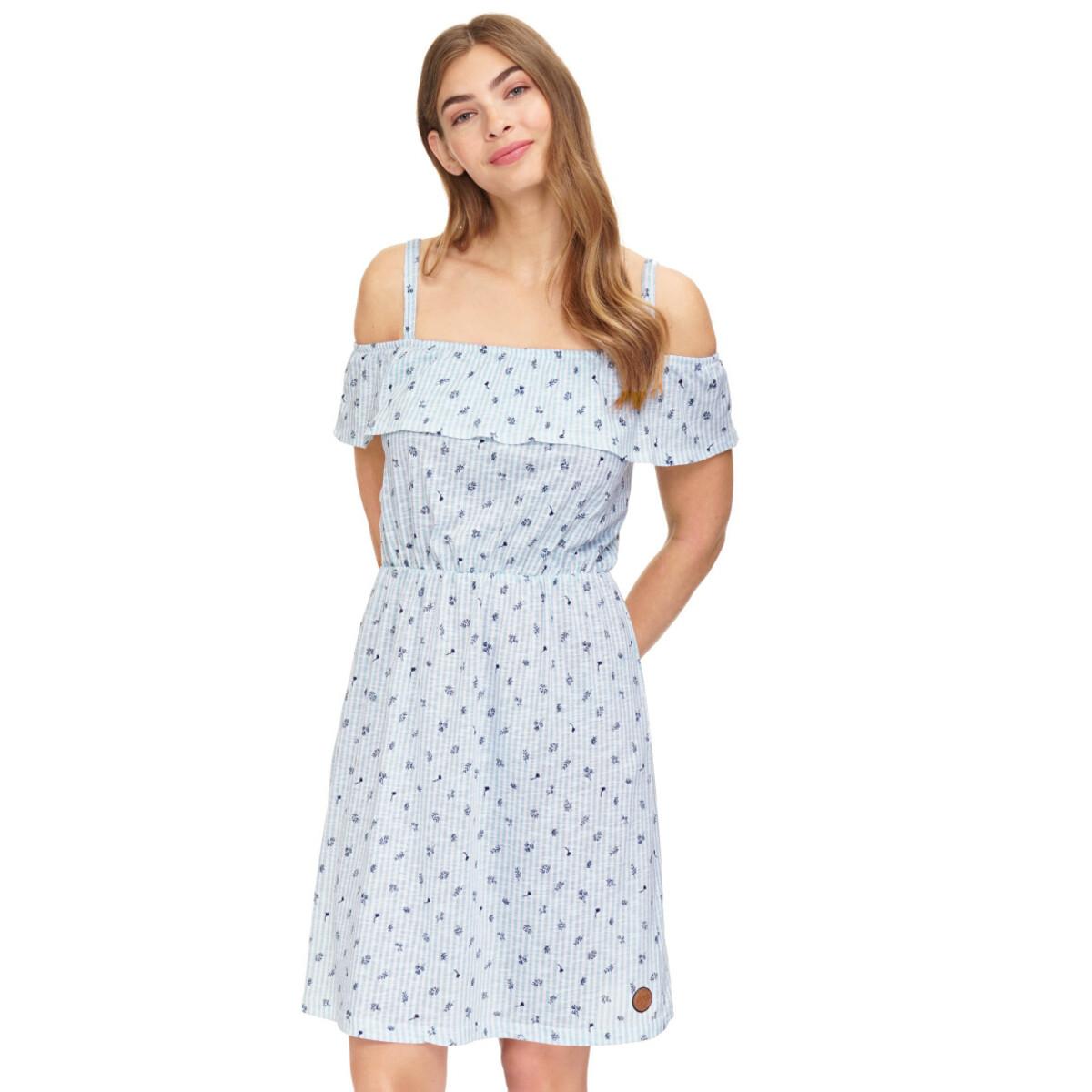 Bild 2 von Damen Kleid mit Allover-Print
