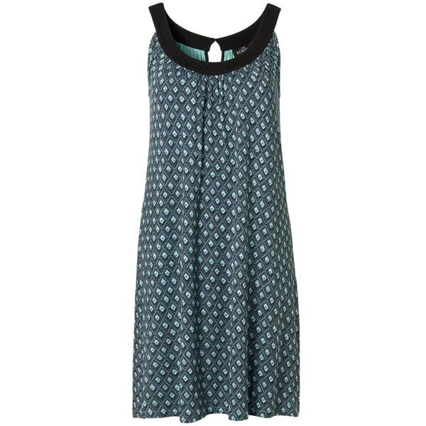 Damen Jerseykleid mit Allover-Print