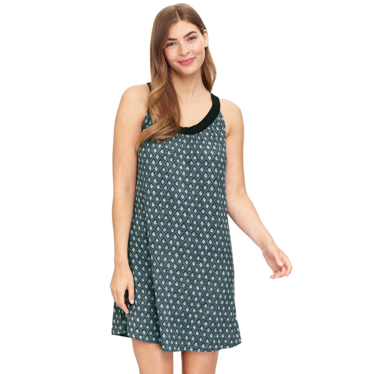 Bild 2 von Damen Jerseykleid mit Allover-Print