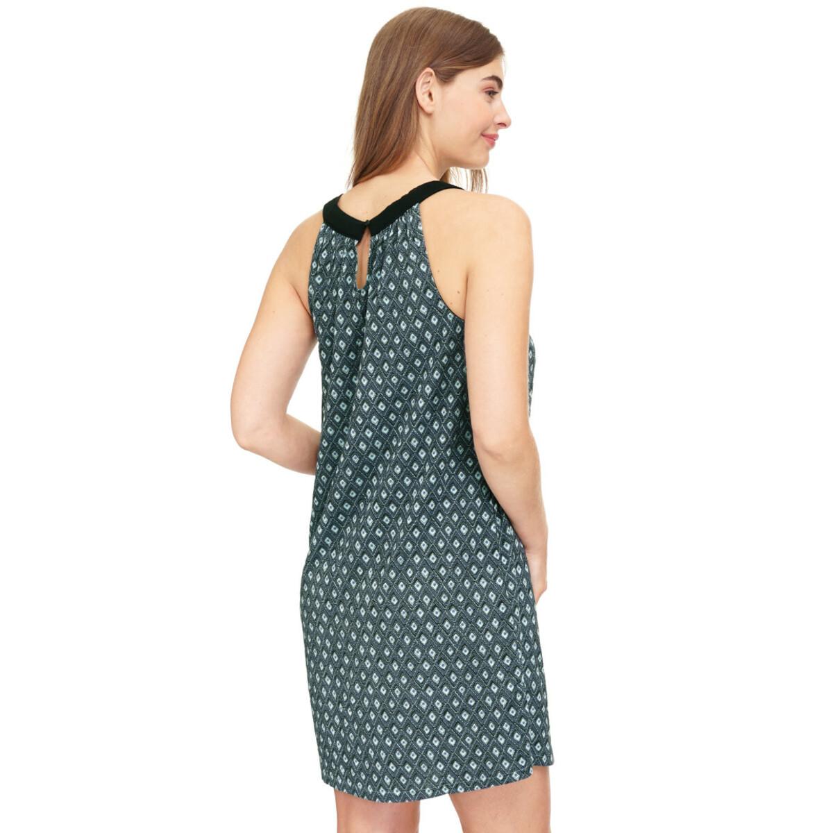 Bild 3 von Damen Jerseykleid mit Allover-Print