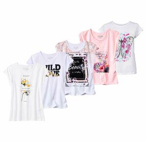 Laura Torelli COLLECTION Damen-T-Shirt mit hübschem Frontaufdruck