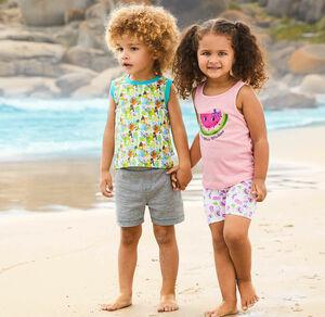 Liegelind Baby-Jungen-Shorts im beliebten Basic-Style