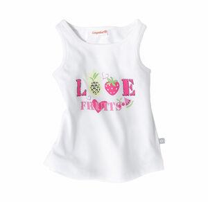 Liegelind Baby-Mädchen-Top mit fruchtigem Design