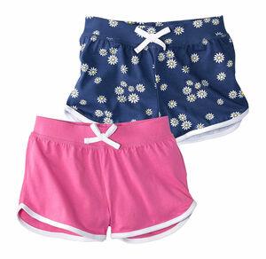 Kids Mädchen-Shorts im günstigen 2er Pack