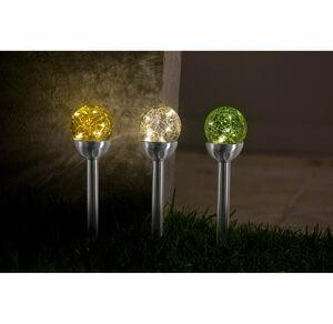 Solarlampe Glasball in verschiedenen Ausführungen, ca. 8x39cm