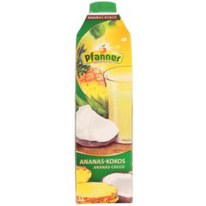 Pfanner Fruchtsaftgetränk Ananas-Kokos