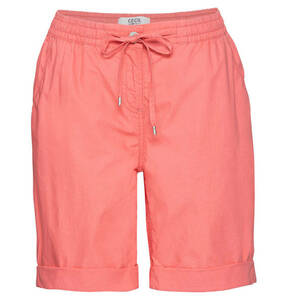 CECIL             Shorts, umgeschlagener Saum, uni