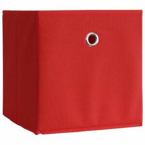 """VCM 2er-Set Faltbox """"Boxas"""" (Farbe: Rot, Ausführung: ohne Deckel)"""
