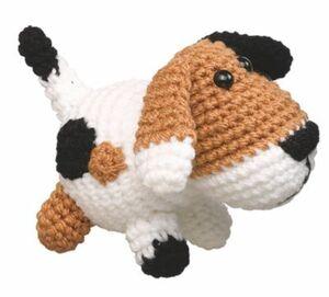 Wollowbies Häkelset  Hermes Hund