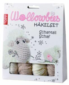 Wollowbies Häkelset Schantall Schaf