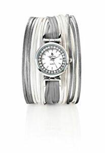 """CB Armbanduhr """"Leona"""" mit Magnetverschluss, weiß"""