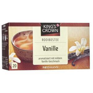 King´s Crown Rooibostee Vanille 2.48 EUR/100 g