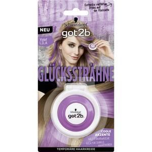 Got2b Glückssträhne temporäre Haarkreide violet lila