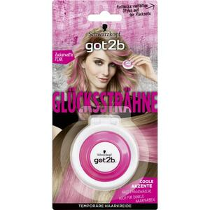 Got2b Glückssträhne temporäre Haarkreide Zuckerwatte pink