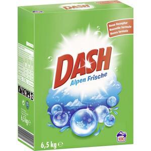 Dash Vollwaschmittel Pulver Alpen Frische 100 WL 0.10 EUR/1 WL