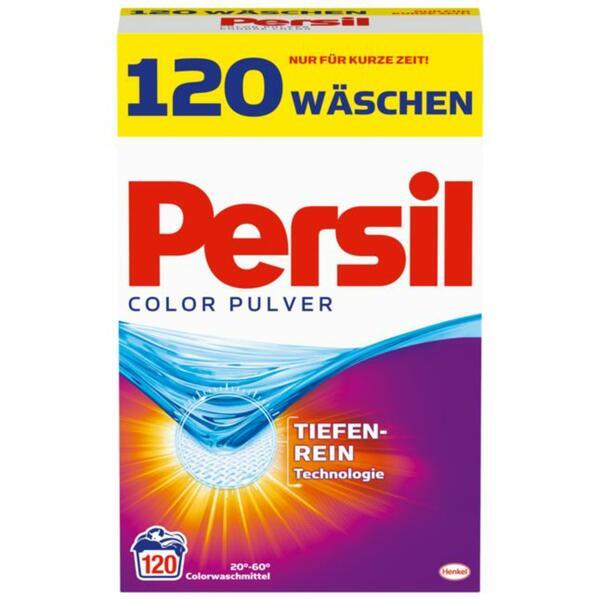 Persil Colorwaschmittel Pulver 120 WL 0.21 EUR/1 WL