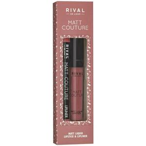 Rival de Loop Rival Matt Couture Lip Kit 06 Mademoiselle