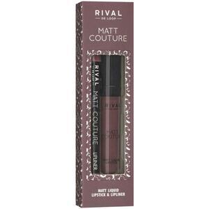 Rival de Loop Rival Matt Couture Lip Kit 02 Gown