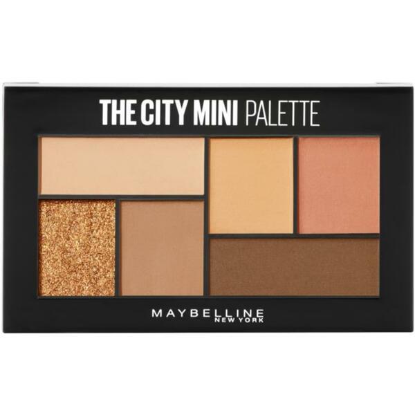 Maybelline New York Lidschatten City Mini Palette 550 Cocoa City