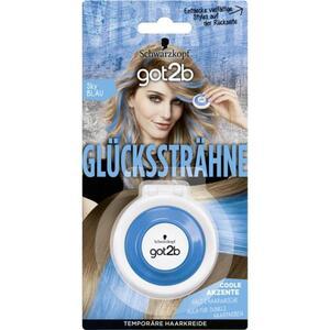 Got2b Glückssträhne temporäre Haarkreide sky blau