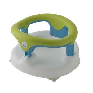 Rotho Babydesign Baby Badesitz weiss/apple green/aquamarine perl