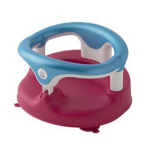 Rotho Babydesign Baby Badesitz raspberry/aquamarin/weiss